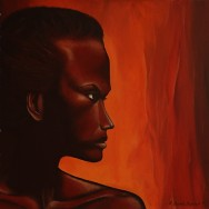 Femme africaine | 61×50